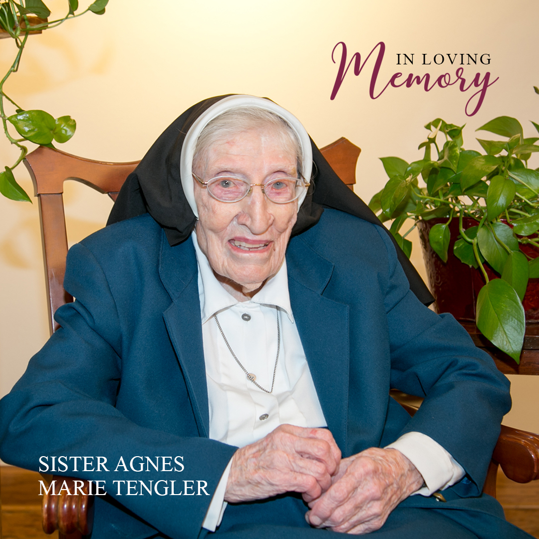 In Loving Memory - Sister Agnes Marie Tengler